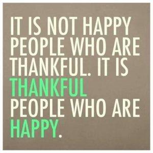Morning gratitude