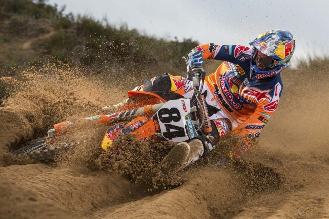 this is an aimage of jeffrey herlings training for motocross