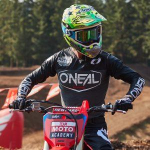 image of AJ Catanzaro supercross training